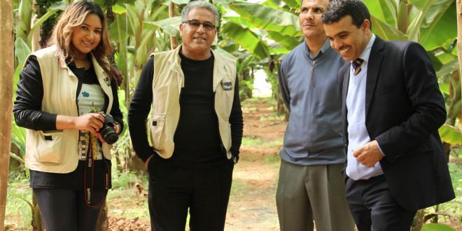 زيارة لإحدى الضيعات بمدينة كلميم
