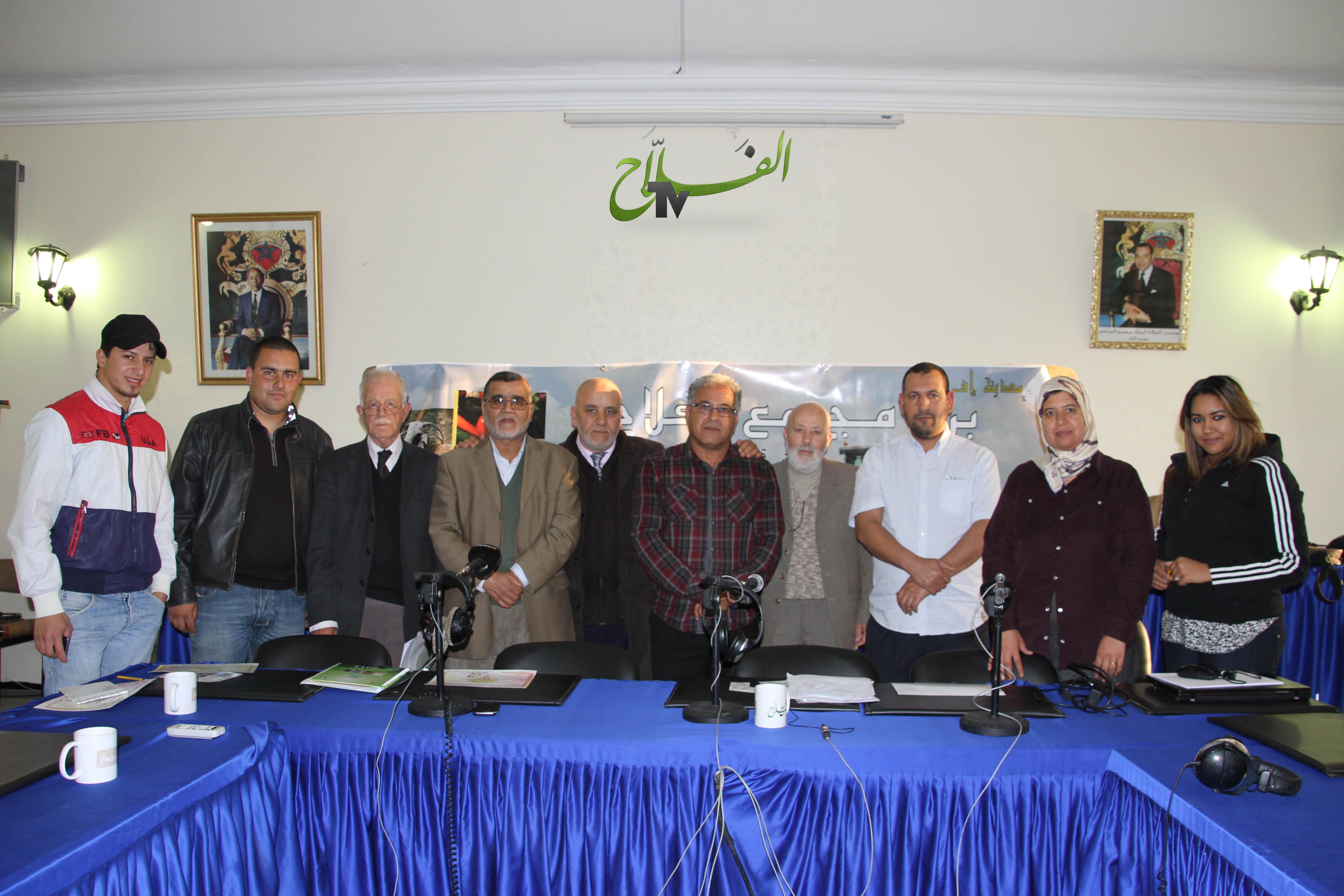 صور برنامج مع الفلاح ليوم الخميس 20 مارس 2014