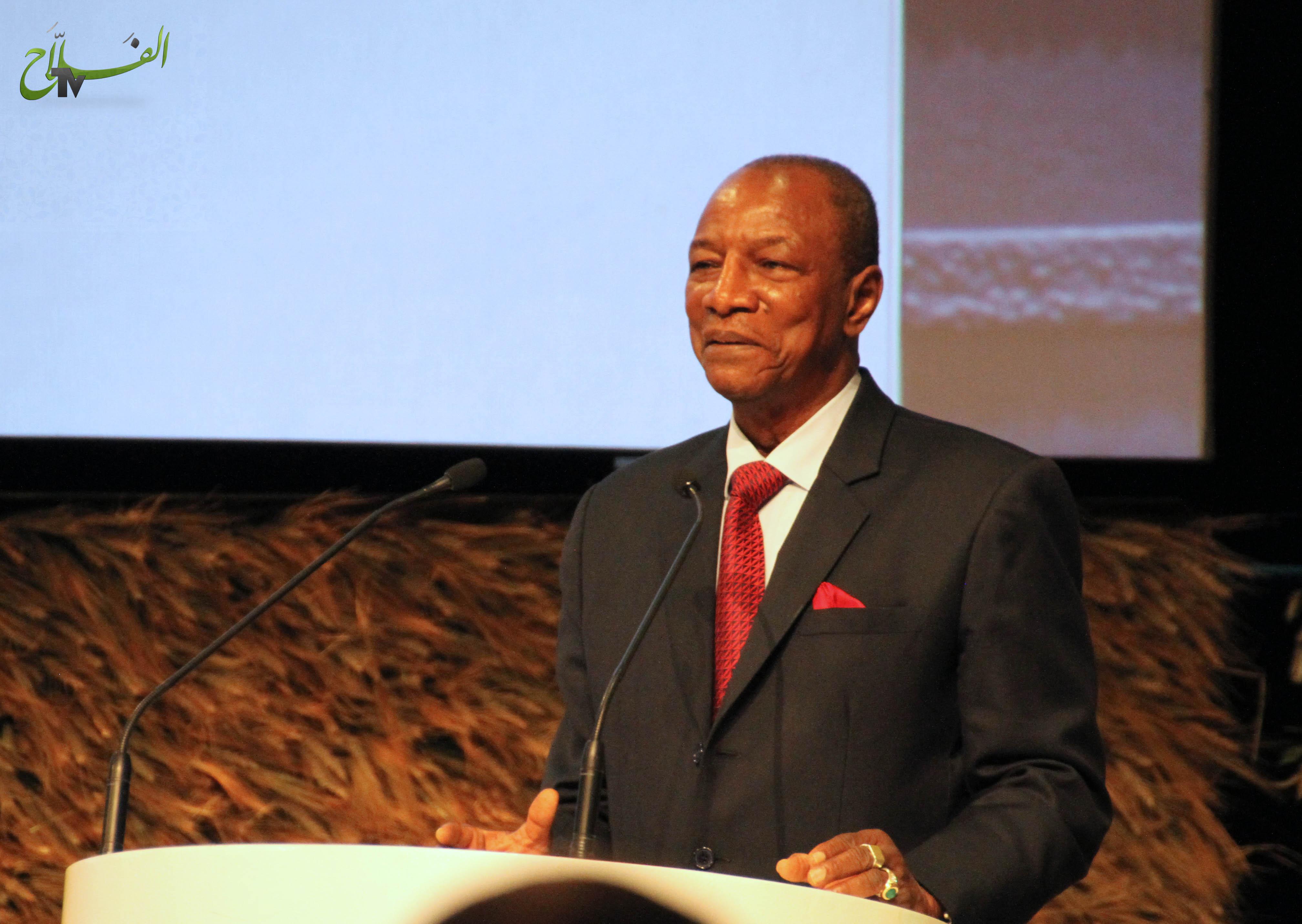 رئيس جمهورية غينيا يدعو المغرب إلى دعم بلاده لتنمية قطاعها الفلاحي