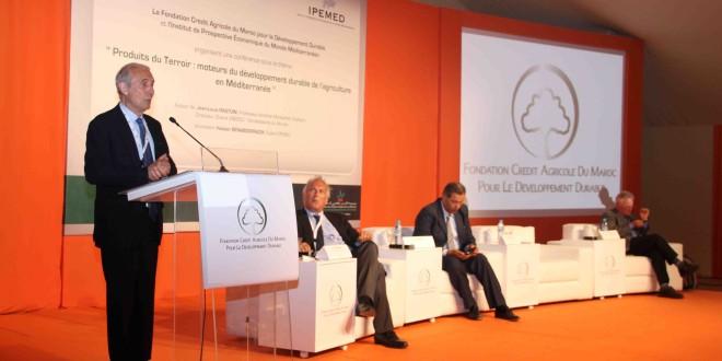 """Conference avec l'IPEMED sur """" Produits du Terroir: Moteurs du Developpement de l'Agriculture en Méditerranée"""