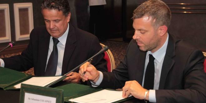 Convention de la Partenariat : Elephant Vert \ Agro-Pole Olivier ENA Meknes