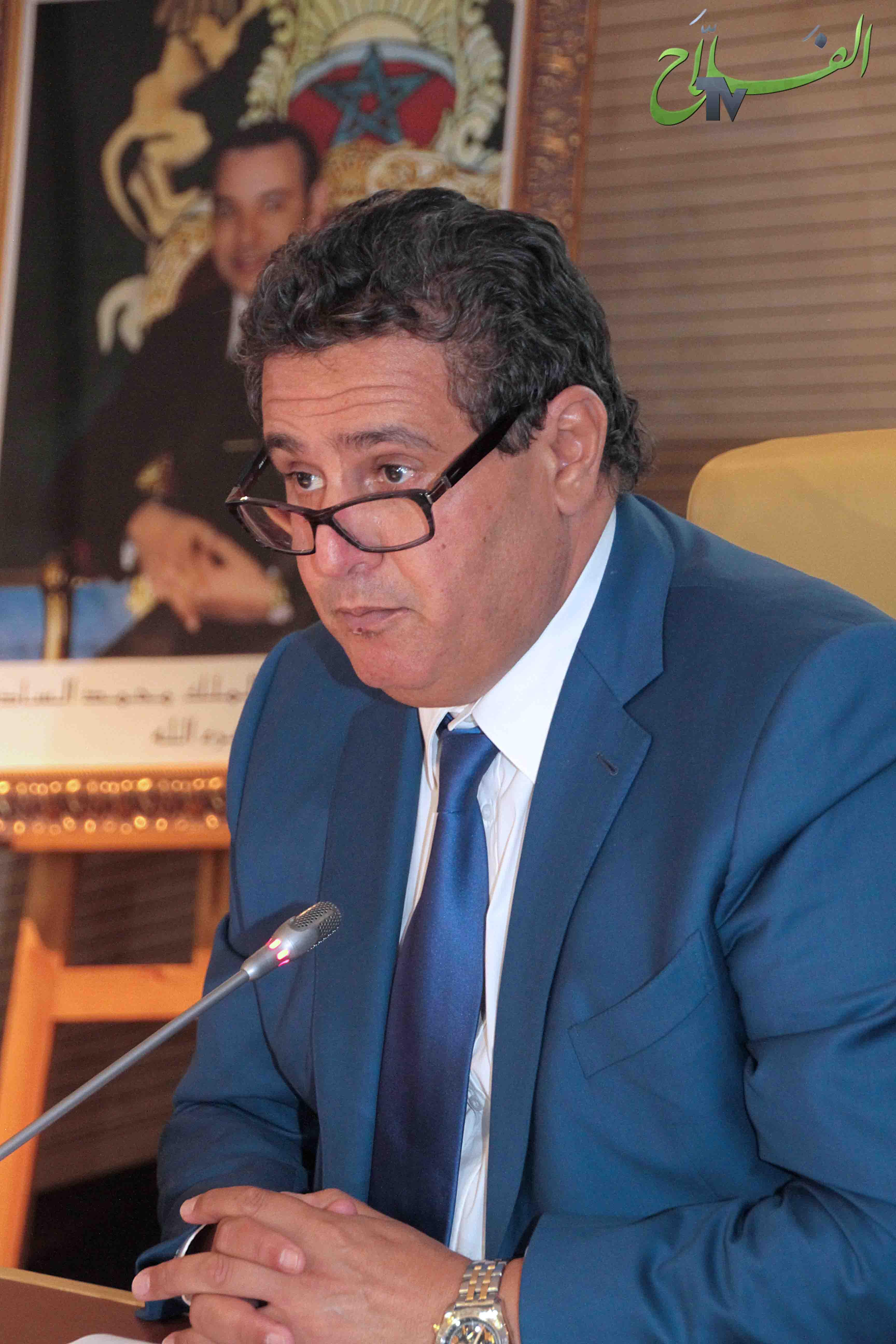 السيد أخنوش يعقد اجتماعا مع رؤساء غرف الفلاحة لتنفيذ مخطط مواجهة تداعيات التأخر في سقوط الأمطار.