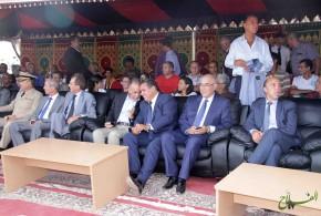 تصريح السيد عزيز أخنوش وزير الفلاحة خلال موسم العنب بجماعة الشراط بوزنيقة