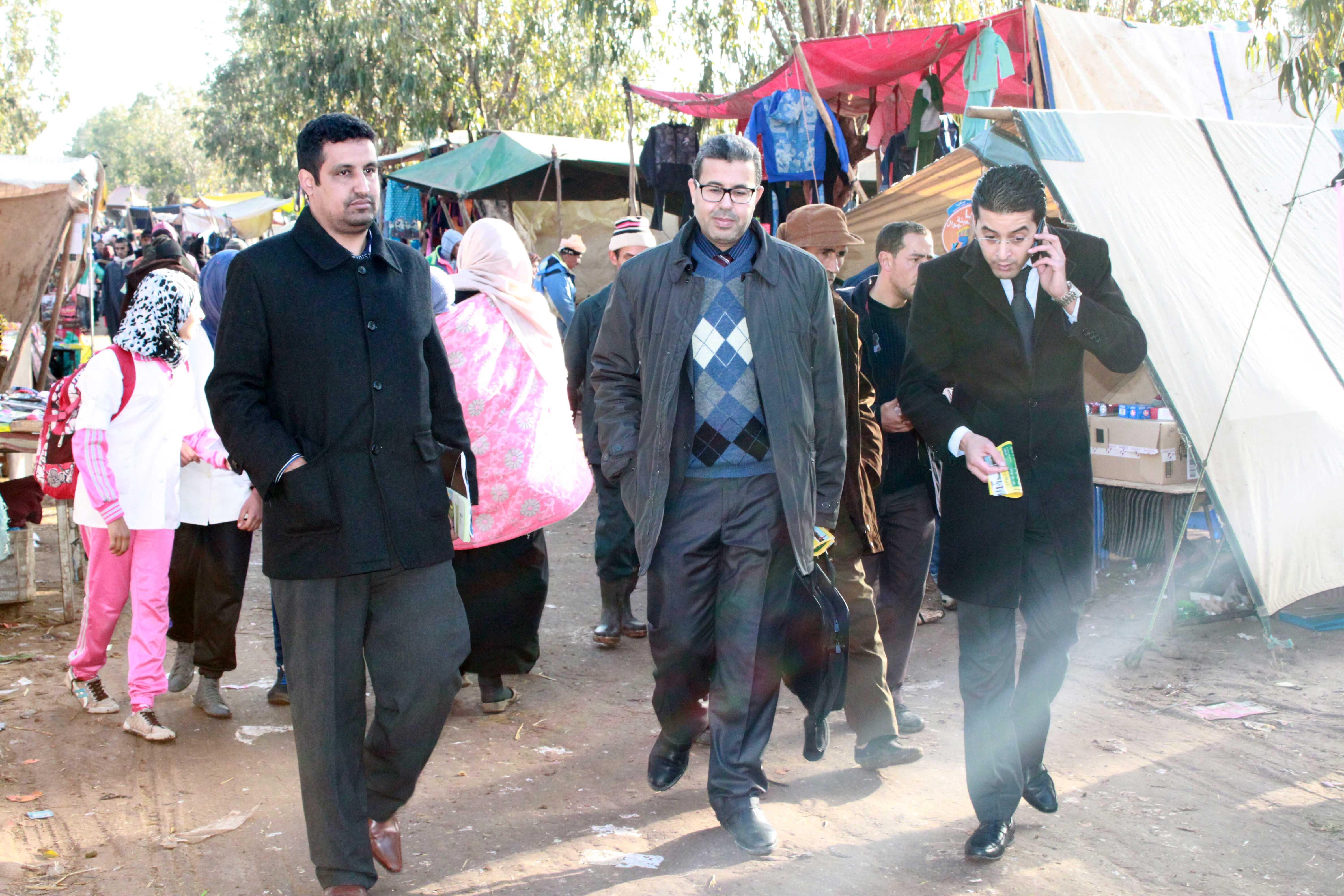 """صور من جولة مدينة إف إم بالأسواق المغربية """" سوق أربعاء أولاد سعيد """" سطات."""
