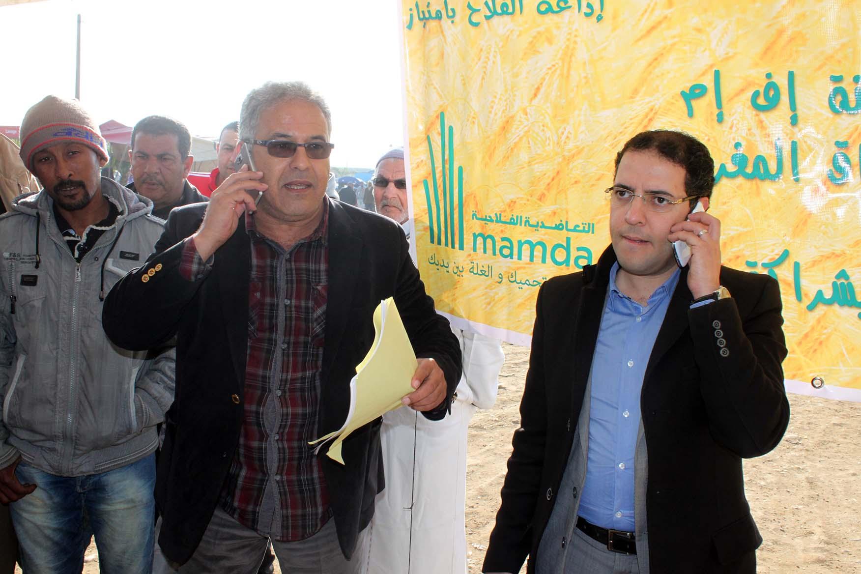 """جولة إذاعة مدينة إف إم بالأسواق المغربية : سوق حد أولاد جلول """" التعاضدية الفلاحية mamda """""""