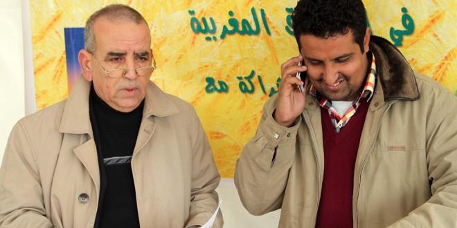 """جولة إذاعة مدينة إف إم بالأسواق المغربية :سوق حد كرت """" المحافظة العقارية """""""