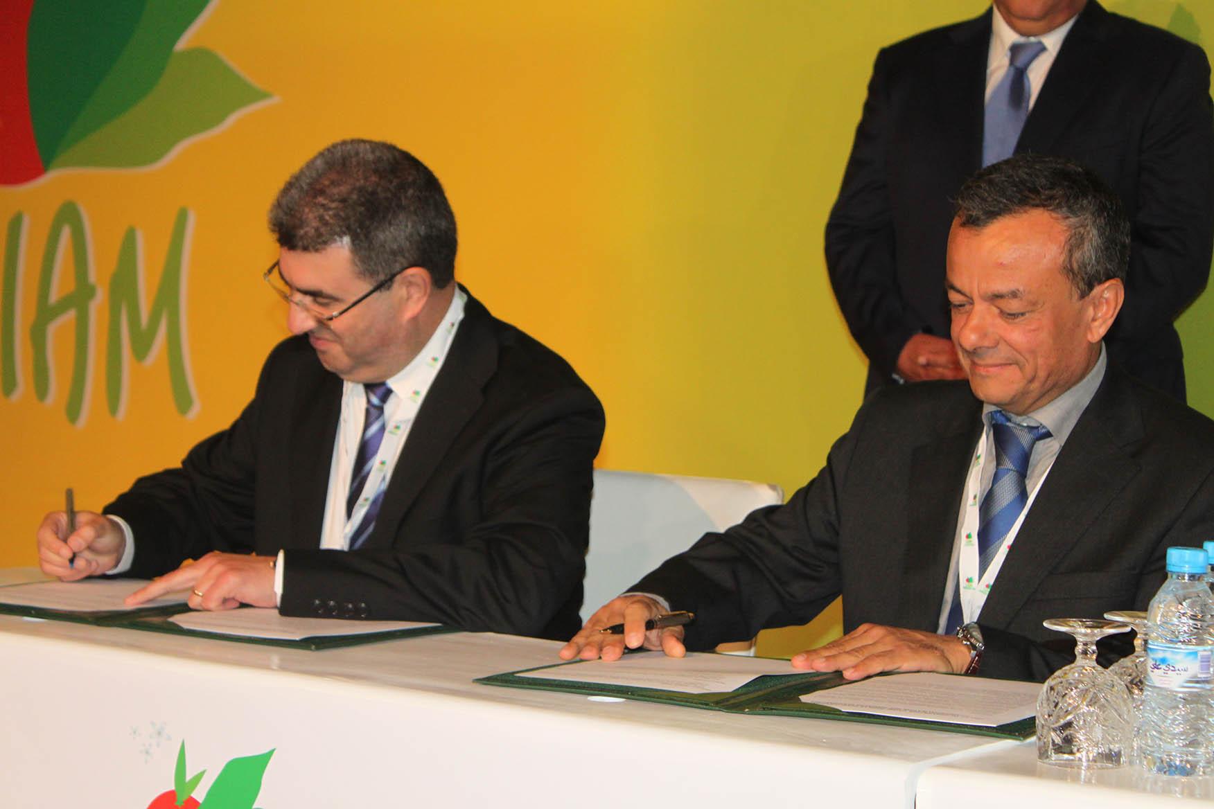 الملتقى الدولي للفلاحة بالمغرب.. توقيع اتفاقيتين لتطوير زراعة الحبوب الزيتية