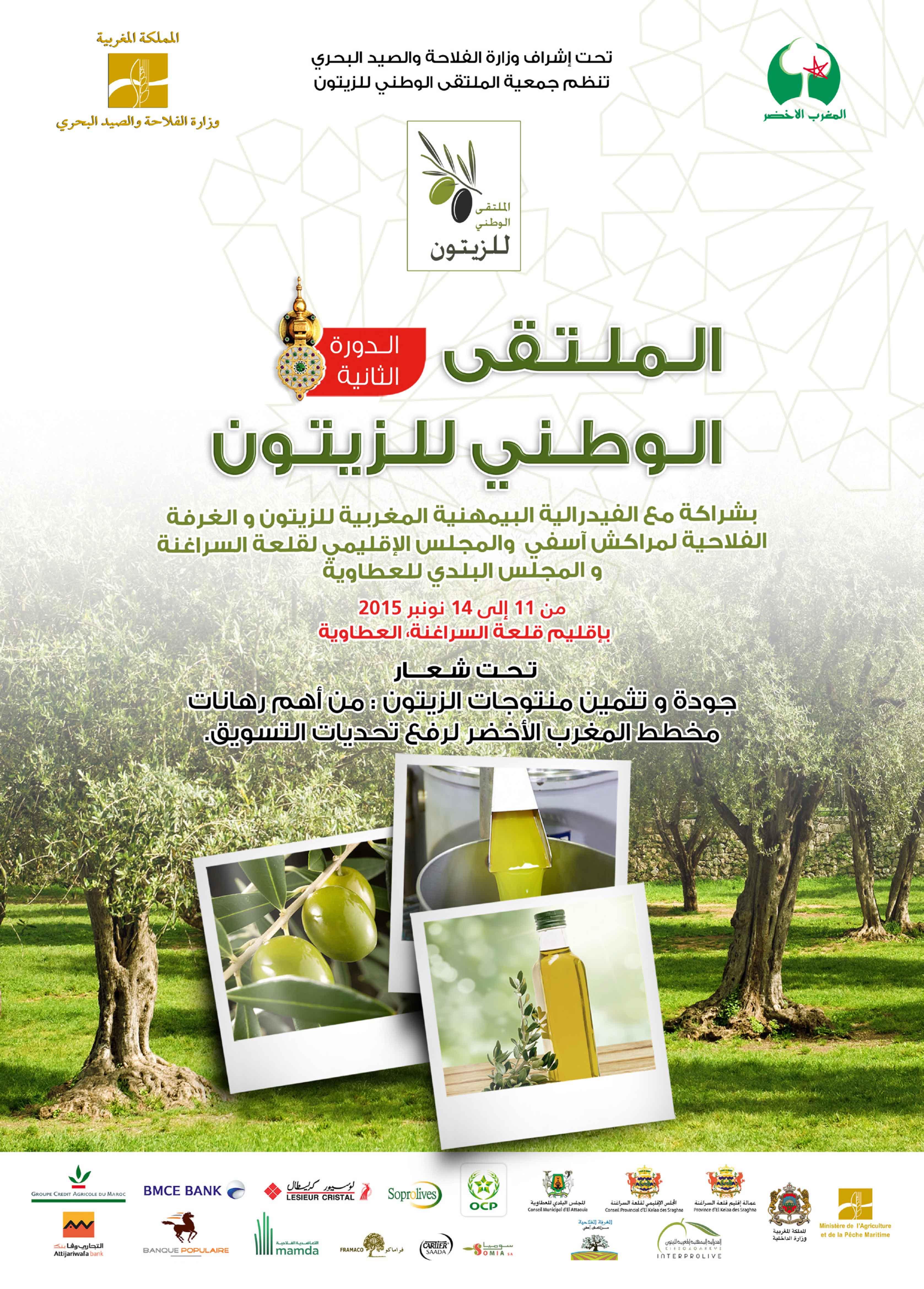 الدعوة الى النهوض بالهيأة المهنية لمنتجي الزيتون باعتبارها رافعة لتحقيق الجودة و التسويق.