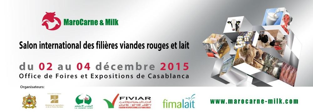 ملتقى مهني لسلسلتي الحليب و اللحوم الحمراء« MaroCarne & Milk » 2015.