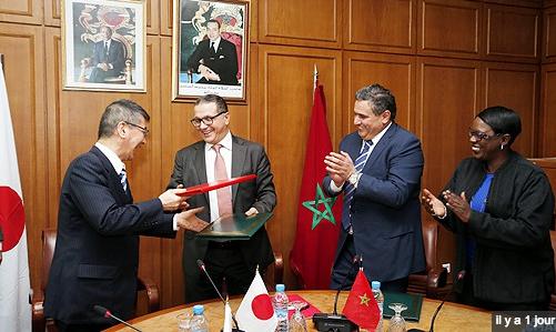 اليابان تمنح المغرب قرضا بقيمة 132 مليون دولار لتمويل مشروع دعم مخطط المغرب الأخضر.