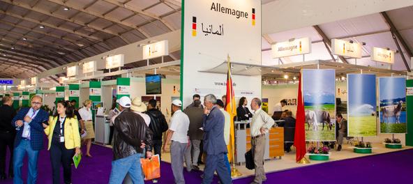 Pour la première fois l'Allemagne vous accueillera sur 3 espaces Made in Germany au SIAM 2016, du 26 avril au 1er mai à Meknès.