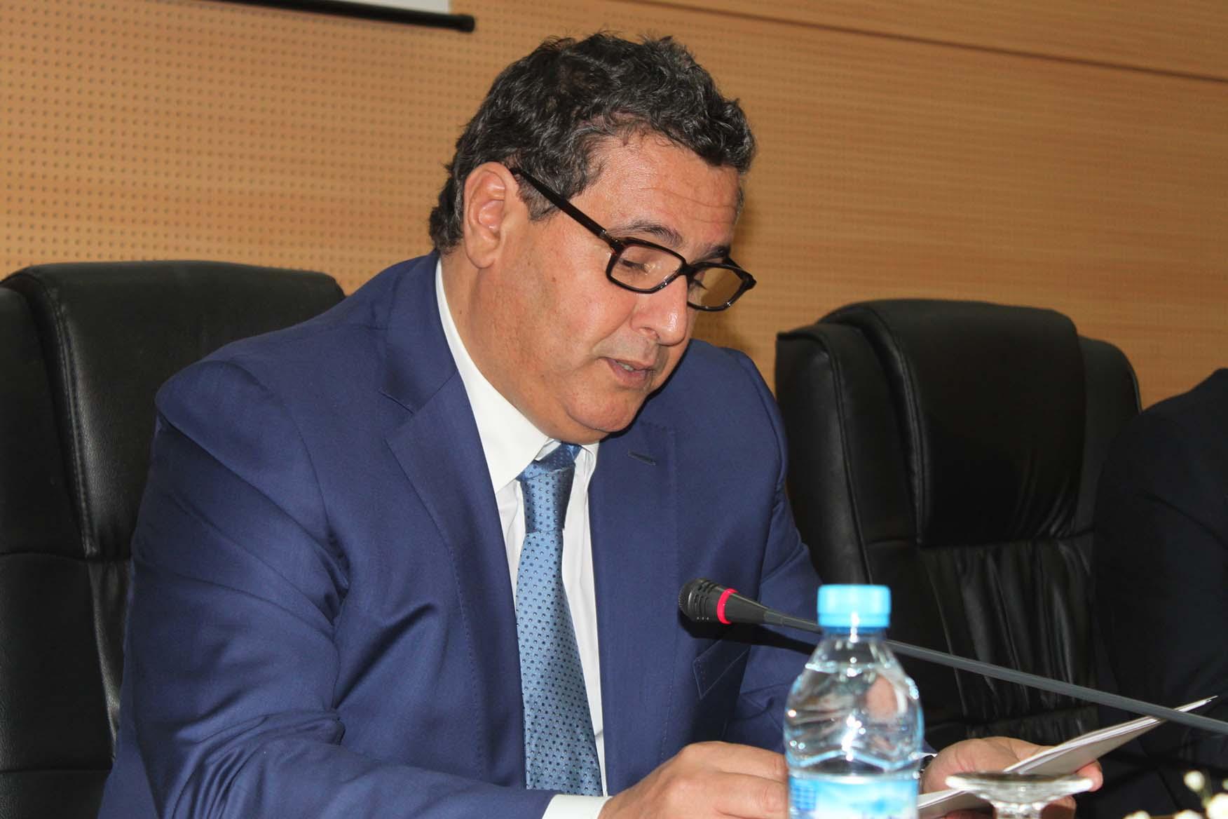 السيد أخنوش يطلع بإقليم الرشيدية على مشروعين فلاحيين بقيمة أزيد من 247 مليون درهم.